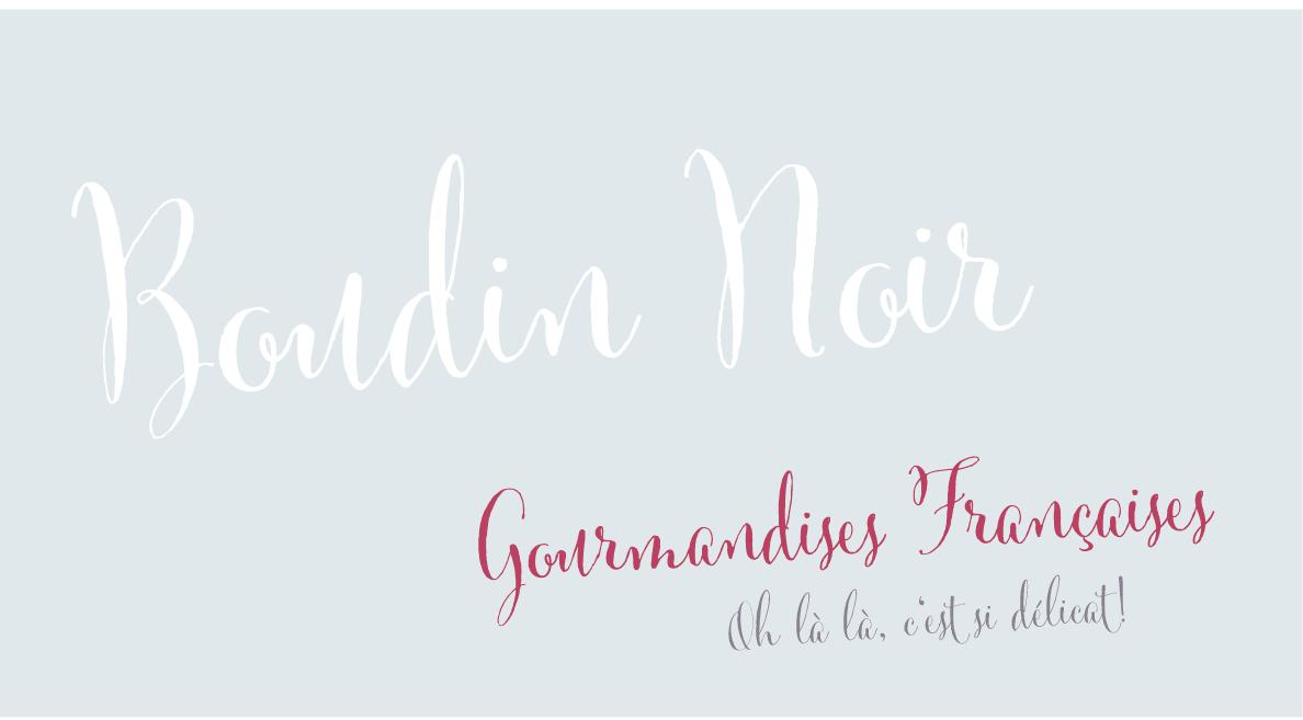 BoudinNoir_GenussSucht_Gourmandises_Françaises