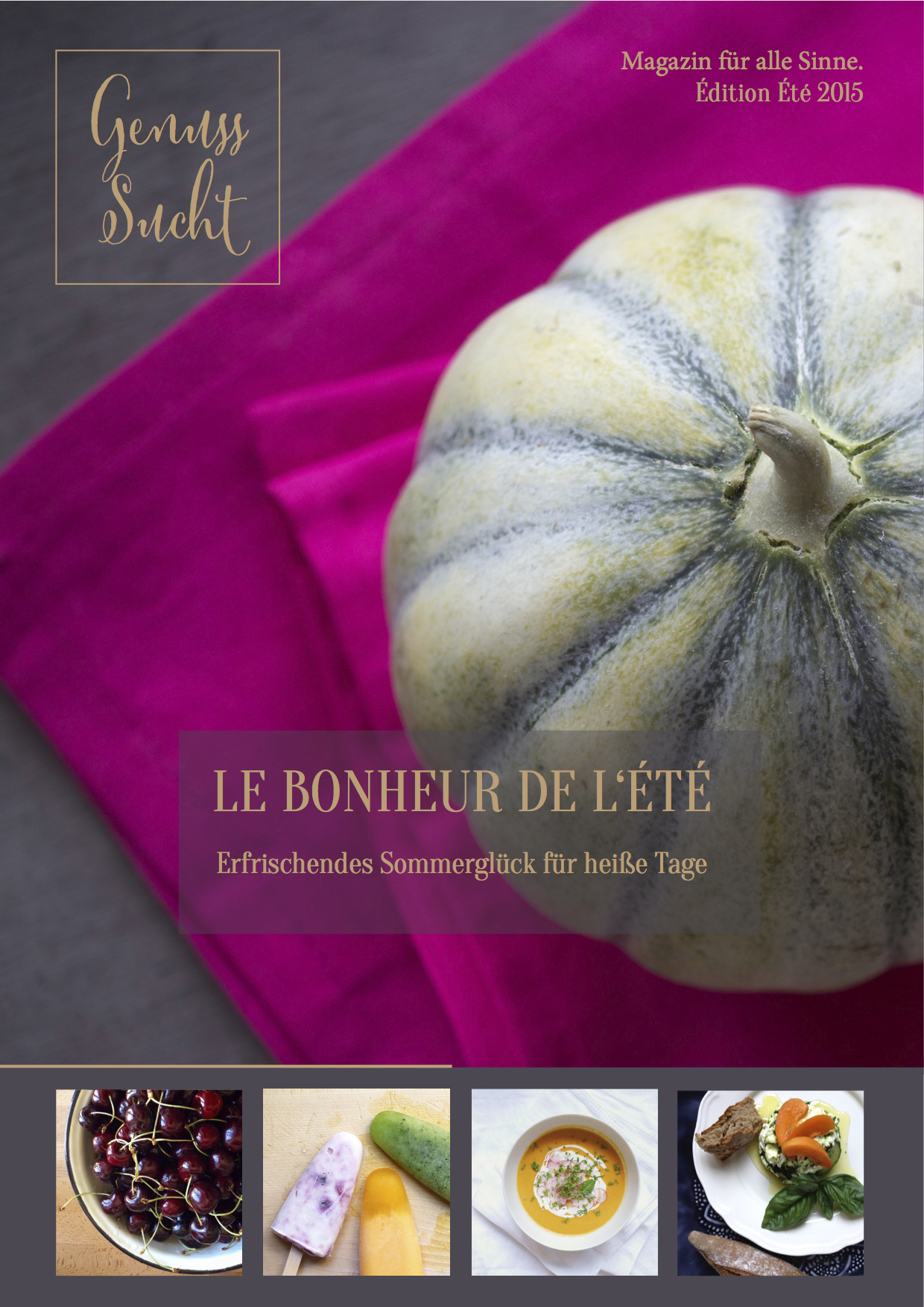 Titel GenussSucht Magazin Édition Été 2015